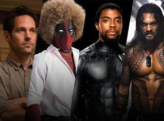 2018年有8部超级英雄电影,不用只盯着一部《复联3》啦