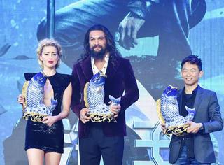 《海王》中国首映礼, 温子仁再掀超英热潮!