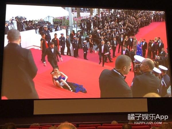 不到一个小时结束,本届戛纳竟然只有一个蹭红毯的?