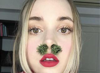 眉毛圣诞树也就忍了,圣诞树鼻毛又是什么鬼?