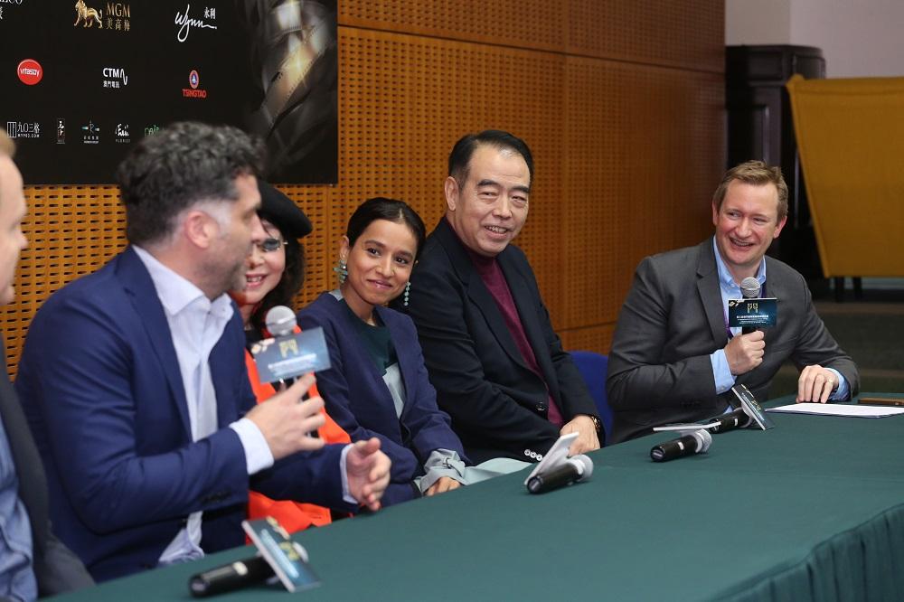 澳门影展评审团记者会 陈凯歌:未来拍一些具有当代性的电影