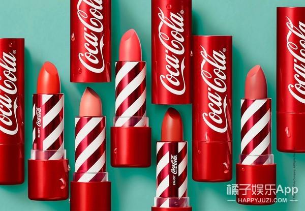 【免费试用】菲诗小铺可口可乐唇膏正装试用