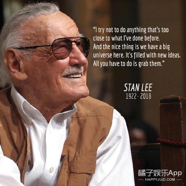超级英雄们的父亲斯坦李去世,漫威宇宙再也没有最大彩蛋了