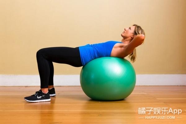 最难减掉脂肪的部位!四个动作就能消除