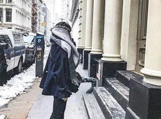 穿这件大衣,160cm变170cm