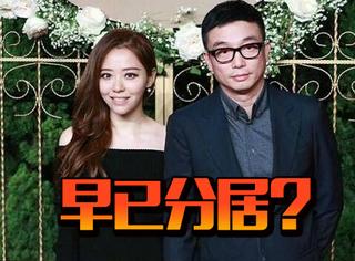 张靓颖冯柯被曝早已分居,当年的连续剧又开始更新了?