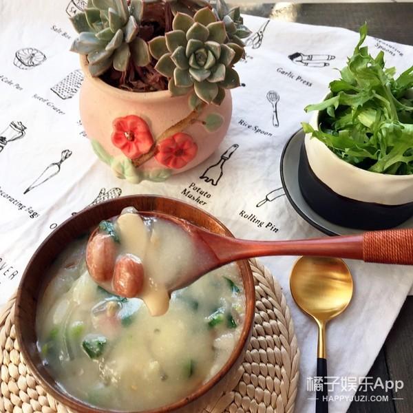 """老济南的百年传统小吃,一个叫做""""甜沫""""的咸粥"""