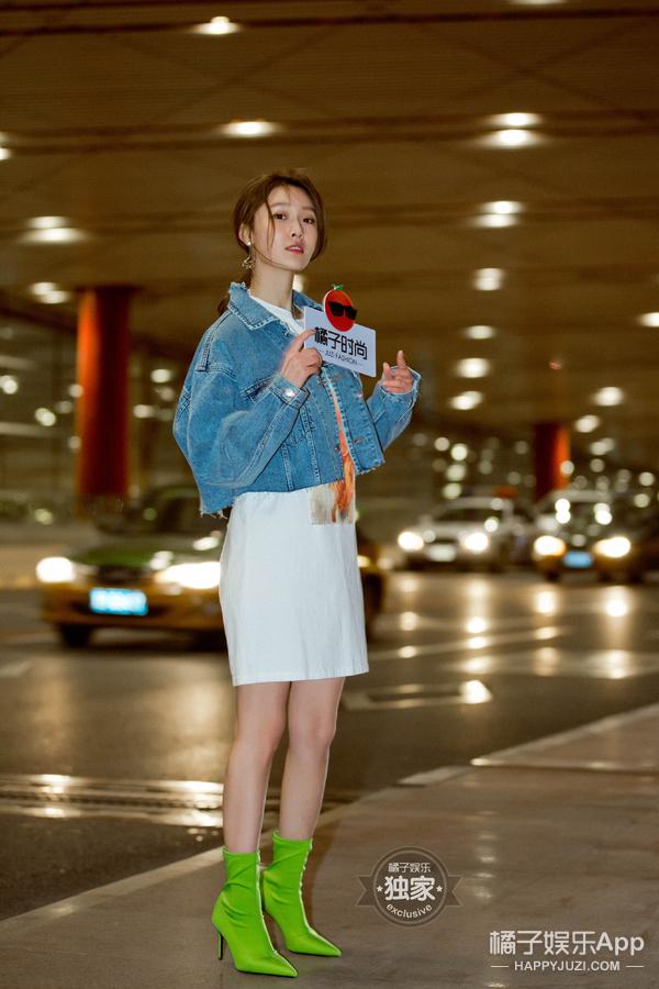 机场Ta最潮|青春又有活力的王子璇小姐姐为你开启新的一周