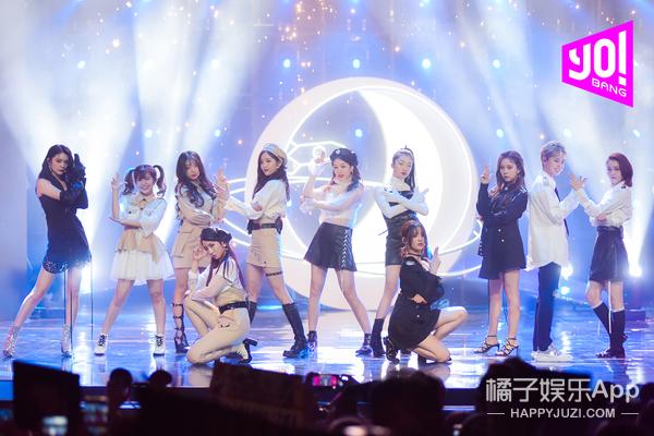 """火箭少女101现身《由你音乐榜样》创造""""史上最热""""舞台"""