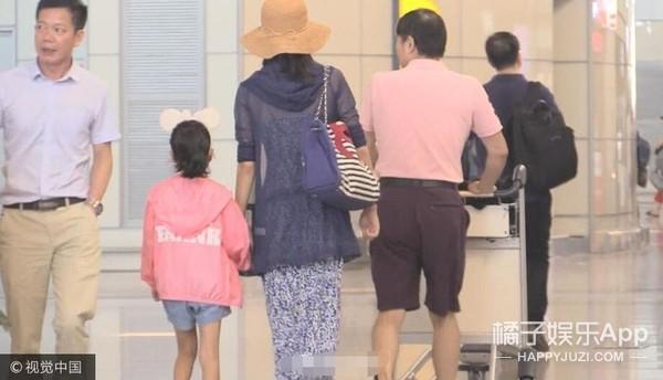 疑似韩雪大18岁老公与女儿曝光,她什么时候结的婚?