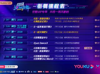 優酷《街舞3》開播即爆,斬獲年度S級綜藝豆瓣最高分!