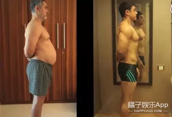 金高银为新戏增肥16斤,这些胖瘦自如的演员都是魔鬼嘛?