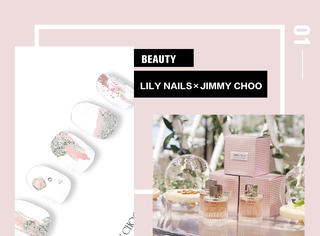 LILY NAILS×JIMMY CHOO的?粉色庄园~