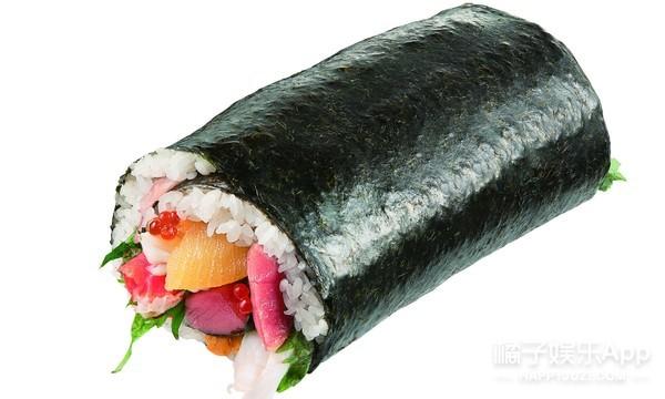 金箔牛肉卷你敢吃吗?特色寿司【招福卷】大展来啦!