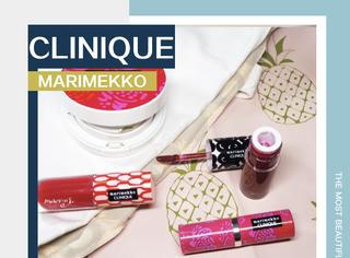 Clinique×Marimekko又出新品啦!