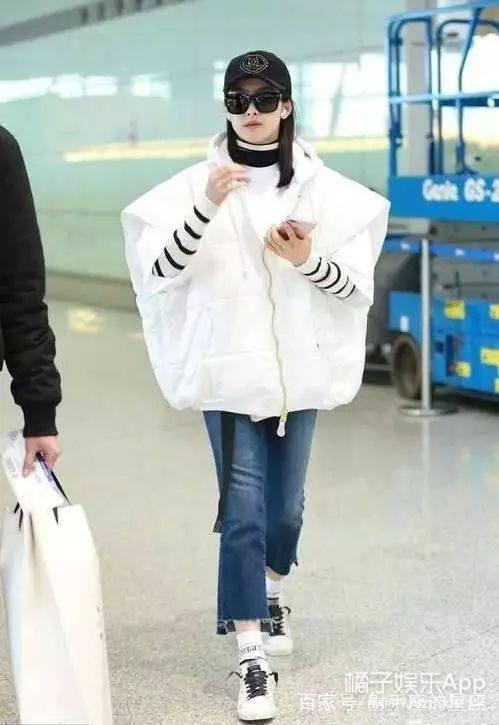 也就是仗着你们长得好看,才敢在机场这么穿衣服吧!