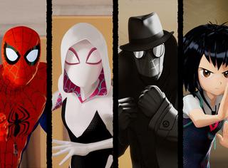 《蜘蛛侠:平行宇宙 》突破次元壁,燃爆岁末打造视觉盛宴