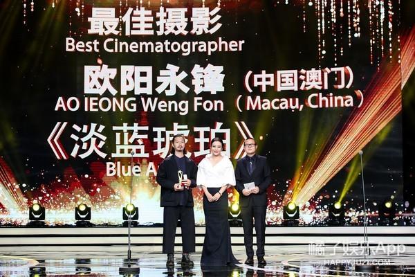 《淡蓝琥珀》荣获上影节亚新奖最佳摄影 首次放映观众齐赞
