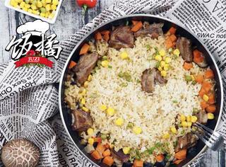懒人版排骨焖饭,不用电饭煲也能满足的美味