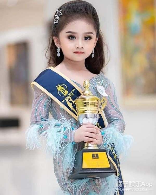最小的选美冠军?