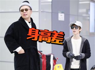 杜海濤機場奇幻穿搭,偶遇郭敬明上演最萌身高差!