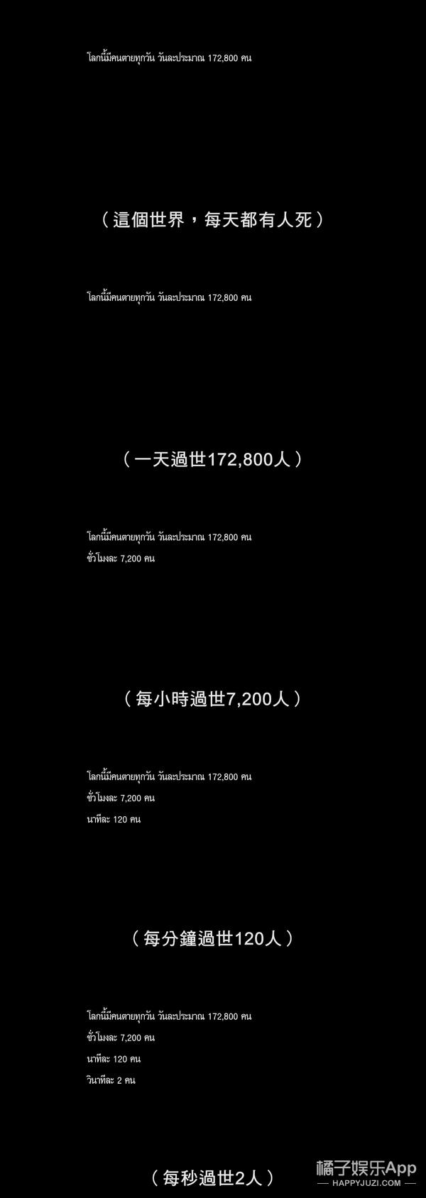 与死亡坦然闲聊:一部死了8442个人的电影