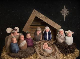 圣诞节是为了庆祝什么?女摄影师用照片解释了一切