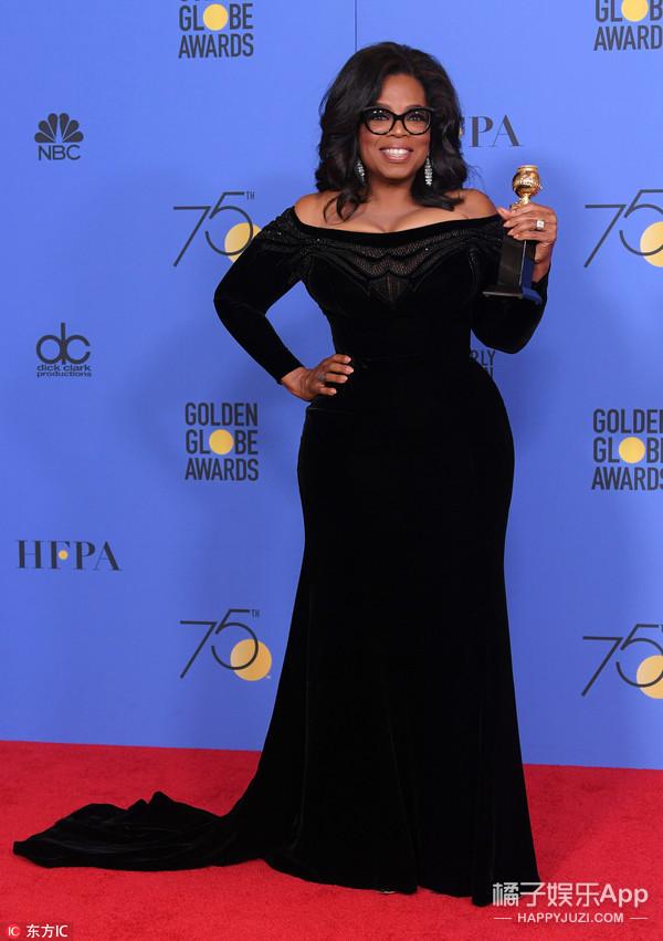 金球奖他们集体穿黑色,是为了声援好莱坞受到性侵的女性们