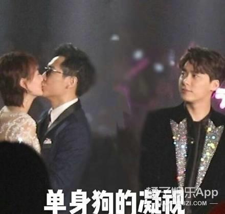 李好夫妇接吻?快来感受来自单身青年李易峰的凝视哈哈哈