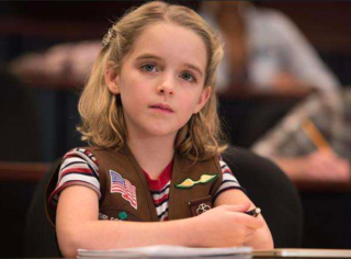 還記得《天才少女》里的小女孩Mary嗎,她現在長這樣