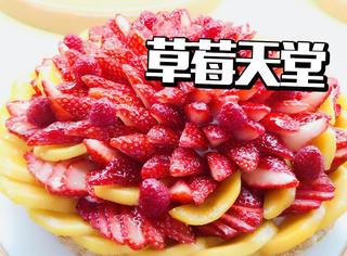 霓虹推出32款草莓主题限定蛋糕,草莓控无法抗拒