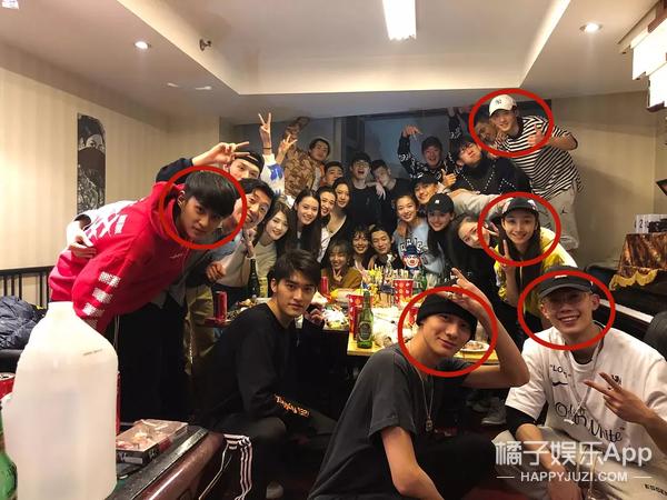 刘昊然大学同班同学的颜值都这种水平吗?