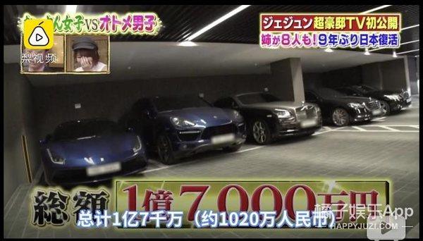 五辆豪车、3000万豪宅,金在中家里竟然还有匹马?