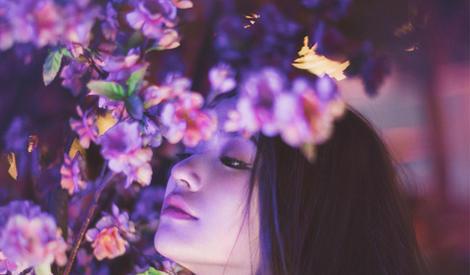 花与美少女,林允活泼天真露少女本性