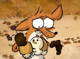 《大坏狐狸的故事》曝终极海报,口碑逆天的法国动画电影来了