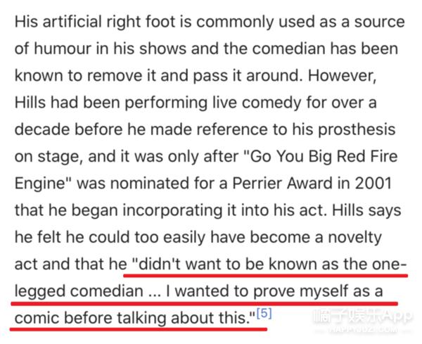 他因调侃残疾人被嘲,直到在台上卸下假肢...