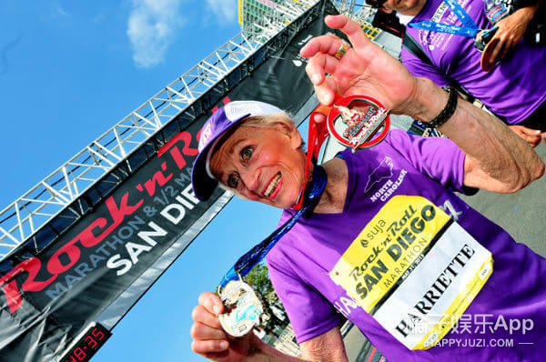 她92岁,又跑完了一次马拉松