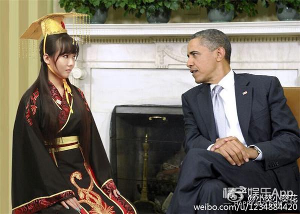 和钟汉良壁咚,和总统合照,现在高中生都这么玩了!