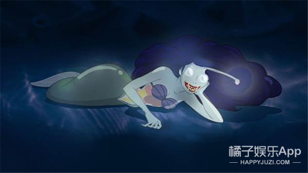 如果美人鱼在不同的海域生活,她会变成啥样,感觉怕怕的!
