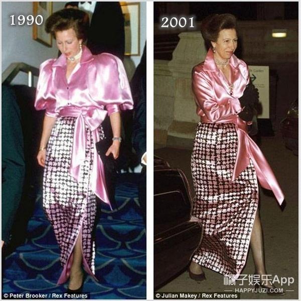 把节俭穿成经典 英国公主衣服一穿就是30年
