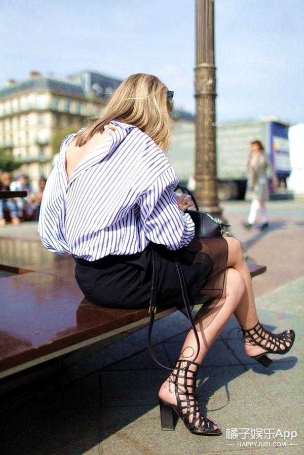 你和时尚咖的区别,就在于敢不敢反穿衣