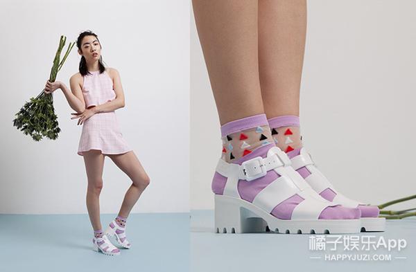 你和马卡龙少女之间只差一双JUJU果冻鞋