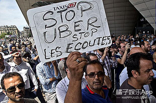 来来来,看看国外是如何打击Uber的