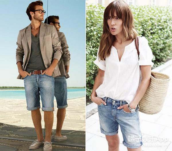 今夏最IN的百慕大短裤,酷过女神,帅炸男友
