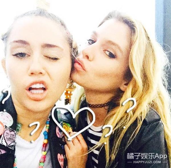 与麦粒Miley Cyrus火热缠绵的可人儿是谁?4件事告诉你
