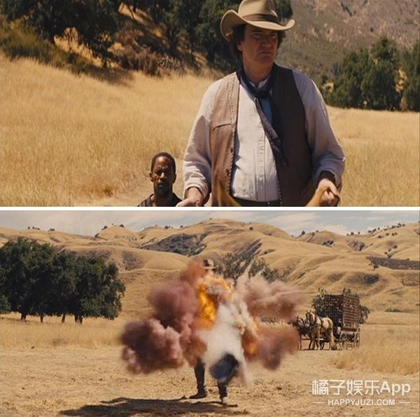 昆汀跑龙套 刚出场就被炸死了