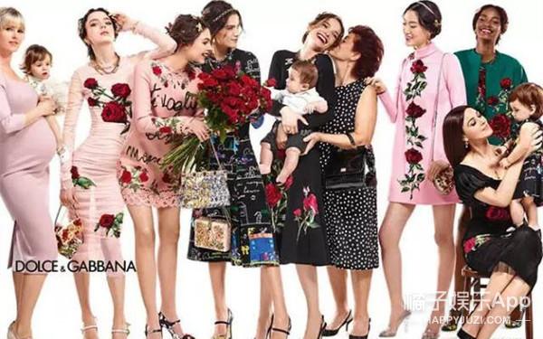 D&G | 这样的全家福最最最时尚了