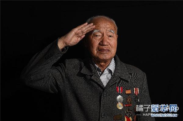 纪念七七事变78周年 看这些老兵从青春年少走向华发苍颜
