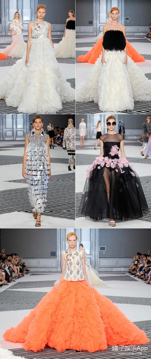 巴黎高定秀∣一条裙子需要10个人抬的Giambattista Valli