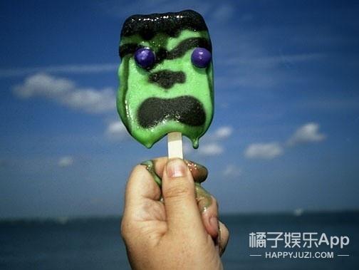 自己买的冰棍儿 吓死也要舔完!